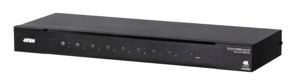 【送料無料】【3年保証】8ポートTrue 4K HDMIスイッチャー【VS0801HB】