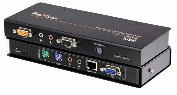 【送料無料】【3年保証】 オーディオ対応 PS/2 KVM エクステンダー 【CE350】 Local/Remoteセット 最大150m延長可能