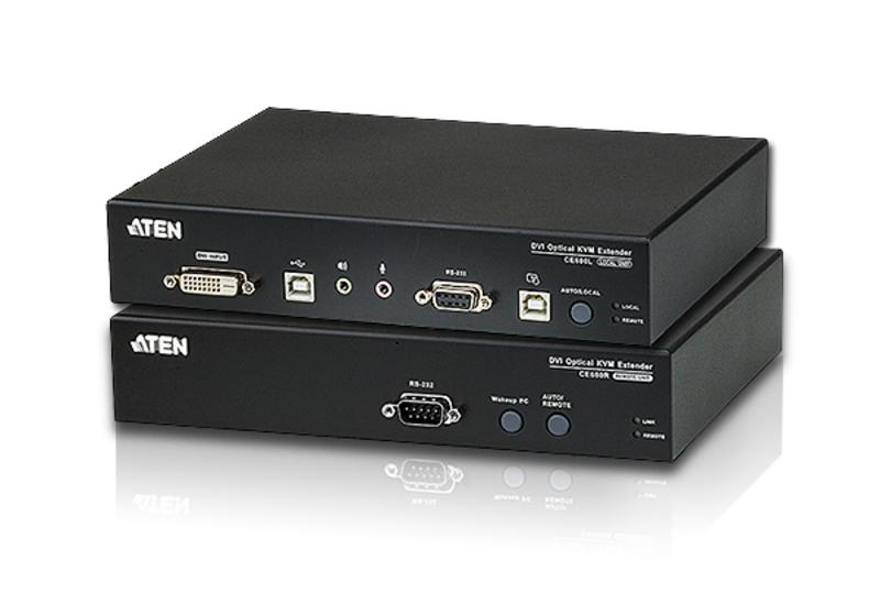 【送料無料】【3年保証】ATEN 光ファイバー DVI/USB KVMエクステンダー 【CE680】