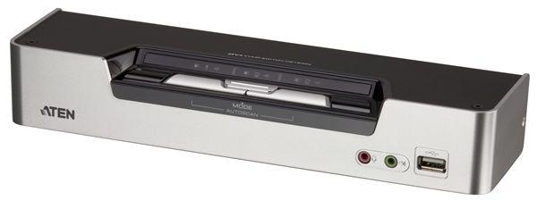 【送料無料】【3年保証】 ATEN DVI Dual Link デュアルディスプレイ対応 2ポート USB KVMスイッチ【CS1642A】