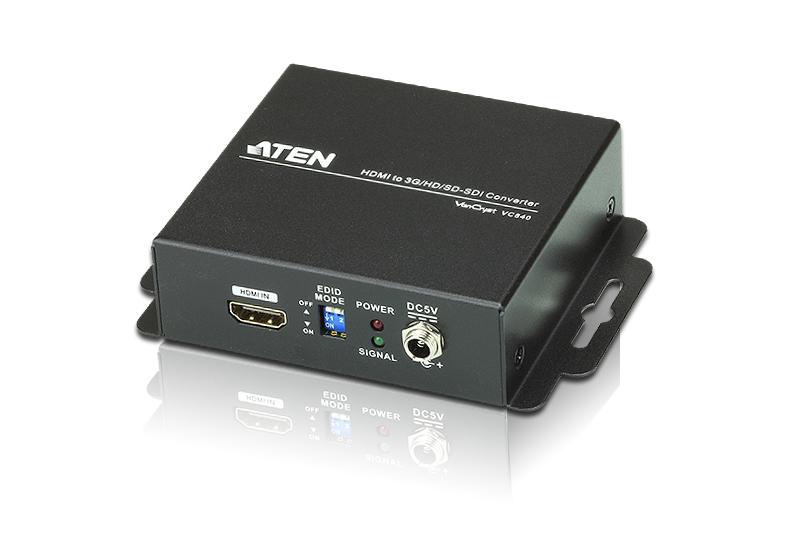 【送料無料】【3年保証】ATEN HDMI信号を3G/HD/SD-SDI信号に変換できるコンバーター【VC840】