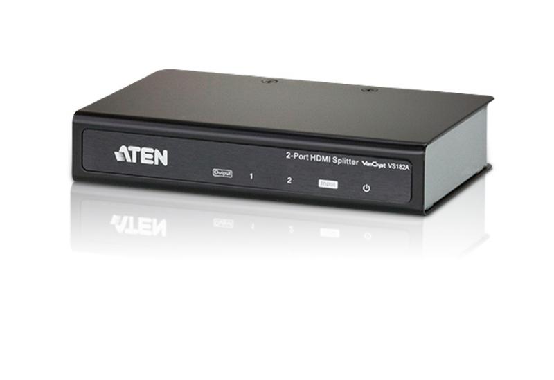 【送料無料】【3年保証】ATEN 2ポートHDMI分配器【VS182A】