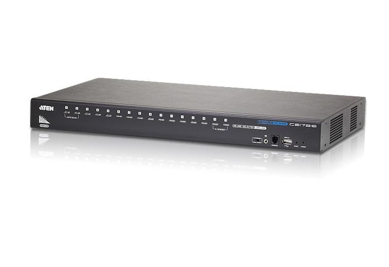 【送料無料】【3年保証】ATEN 16ポート USB HDMI KVMスイッチ【CS17916】
