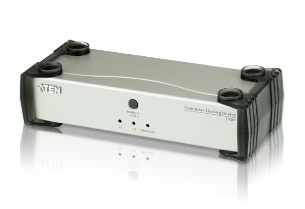 【送料無料】【3年保証】ATEN DVIコンピューター共有器 【CS261】