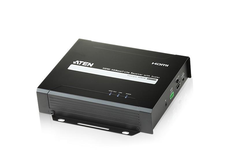 【送料無料】【3年保証】ATEN HDBaseT Lite レシーバー(スケーラー内蔵) 【VE805R】