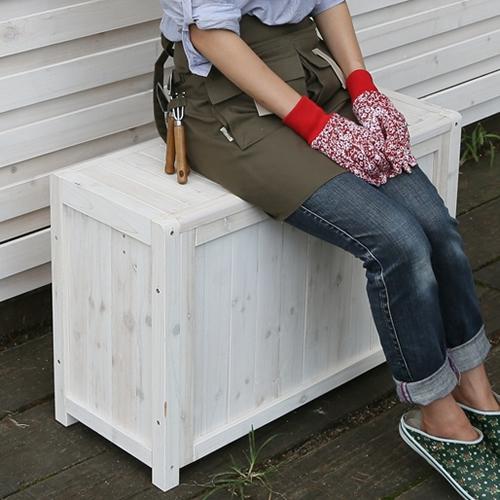 ベンチボックス ポリタンクもロングブーツも収納できます!たっぷり納得の大容量!! 商品型番:box-b800