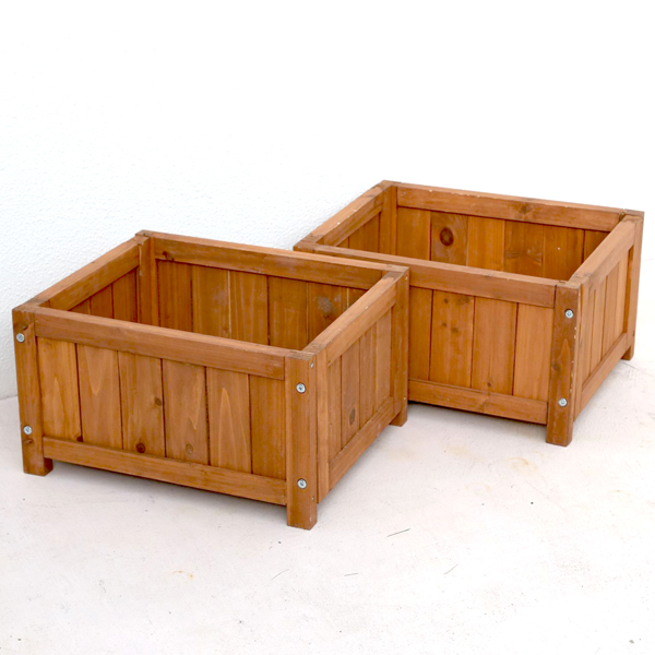 Planter Benches For Deck Style Set Of 2