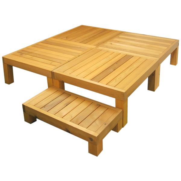 【超目玉】 天然木製 レッドシダー レッドシダー ウッドデッキ1.0坪(ステップ付) カナダ産レッドシダーをていねいに仕上げた国産品 ※メーカー出荷商品の為、きです フェンス。 木製,木製 商品型番:rd-y4:ガーデン@ガーデン 店, スペリア e-Shop:3492de69 --- fricanospizzaalpine.com