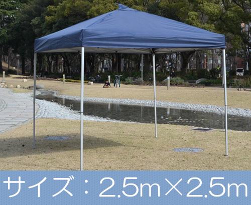 機動性バツグンのラクラク タープバッとひろがるワンタッチ テントM(2.5×2.5m)【送料無料!】商品型番:nnwtp-250