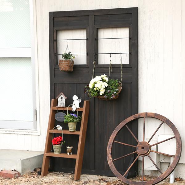 ハンギング自在の多目的ガーデンツール シェッドファサードウォール ゲート(門扉)にも、パーテーションにも! 商品型番:sfw-1100
