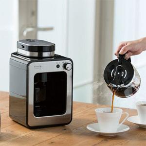 【在庫有】蒸らし機能で更に美味しく【siroca crossline シロカ 全自動コーヒーメーカー SC-A111】【送料無料・代引料無料・保証付】 珈琲メーカー ミル付きコーヒーマシン オートコーヒーマシン シロカクロスライン
