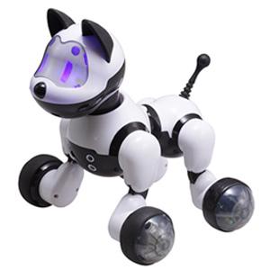 \ページ限定・ティースプーン付/ 犬型おしゃべりロボット 【ロボット犬 歌って踊ってわんわん RI-W01】【送料無料・代引料無料】 [15種の合言葉のコミュニケーショントイ おしゃべり犬]
