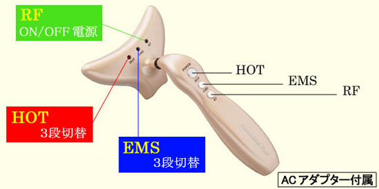 Omni nasolabial fold YMO-93ES [iron type facial equipment, 1 hanger nasolabial fold