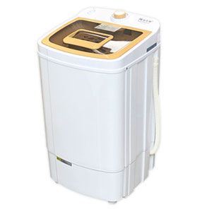 小型脱水器 【アルミス Moco2 SpinDryer ASD-5.8】 【送料無料】[干したい汚れ物などやちょっとした洗濯物の脱水に役立つスピンドライヤー]