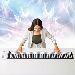 【在庫有】ハンディロールピアノ 【ハンドロールピアノ 88Kグランディア】【送料無料】 [128音色・128種類のリズムでライブ感覚の演奏が可能なテーブルピアノ プレゼントにおすすめ]