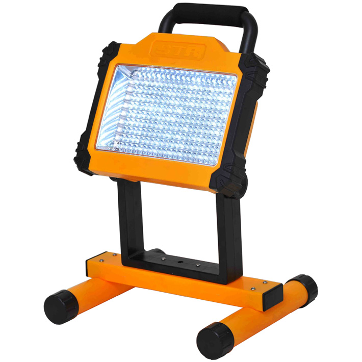 【在庫有】投光器 led 充電式 スタンド 【送料無料】【充電式ポータブル投光器 8154ak】 ledライト 照明 ライトスタンド スタンドライト led投光器 投光機