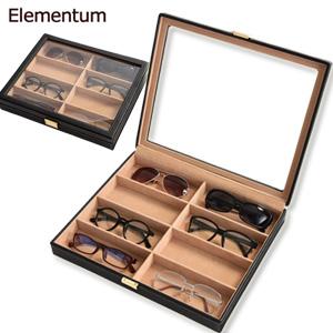 送料無料 サングラス コレクションケース 眼鏡ケース ディスプレイケース 眼鏡コレクション おしゃれ ついに入荷 収納ケース ディスプレイボックス �級 Elementum メガネ収納ケース \ページ限定 240-452 8本用 コレクションボックス 眼鏡用 メガネケース ティースプーン� ついに入荷