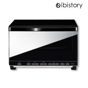 オーブントースター 4枚焼き 【ツインバード Ibistory ミラーガラスオーブントースター TS-4057B】 [送料無料・代引料無料] オーブントースター モダン 黒 結婚祝い トースター