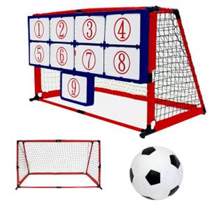 キックターゲット 【Enjoy Family マジックナインサッカー EFS-182】 [送料無料] 的当てゲーム レジャー レクレーション サッカー シュート練習 簡易ゴール 的 サッカー練習