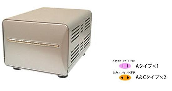 해외 여행용 변압기 TI-27 [오크 얼룩 정품: 550W 대용량 업/다운 트랜스]