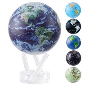 MOVAサテライトグローブ 【送料無料】【不思議な地球儀 MOVAグローブ 11cm】 ムーヴァグローブ ムーバグローブ 自転する地球儀 ミニ 卓上 小型