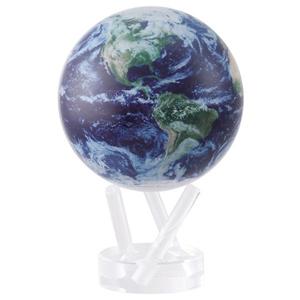 【在庫有】MOVAサテライトグローブ 【送料無料】【不思議な地球儀 MOVAグローブ 11cm Satellite View/Cloud 1264890】 小さい コンパクト ミニ地球儀 クラウド オシャレ