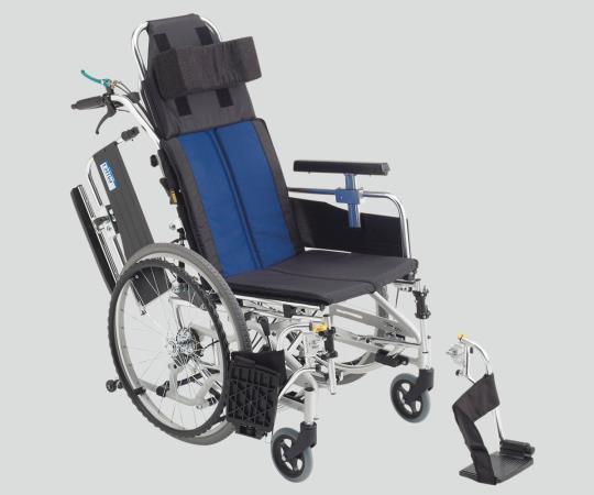 ティルト&リクライニング車椅子 (アルミ製) BAL-11 自走式 650×1100×1250mm