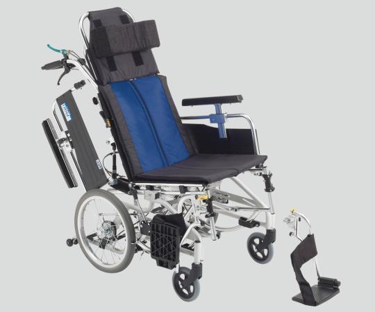 ティルト&リクライニング車椅子 (アルミ製) BAL-12 介助式 590×1100×1250mm