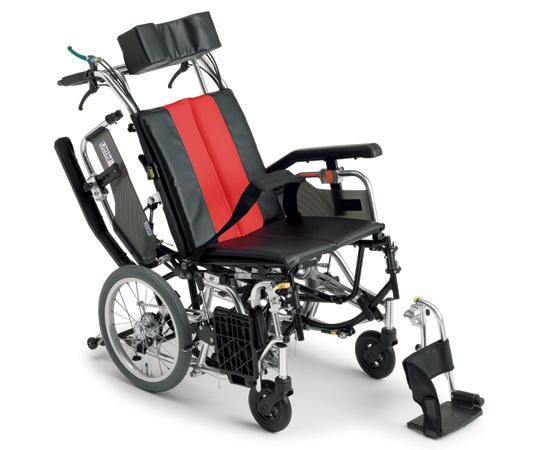 ティルト&リクライニング車椅子(アルミ製) TRC-2 介助式  620×1080×1130~1300mm