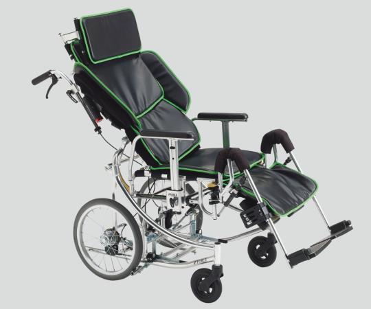 座面昇降型リクライニング車椅子(アルミ製) NEXTROLLER(R)_sp2 介助式 600×1140~1415×820~1215mm