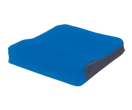 車椅子クッション (シーポス) MSP ブルー/オレンジ 400×400×50/70mm
