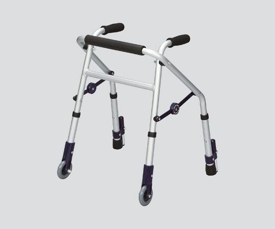 超ミニタイプ歩行器(ミニフィット)XS-128S 前輪キャスター式 軽量・小型で、小柄な方や円背の方に適しています