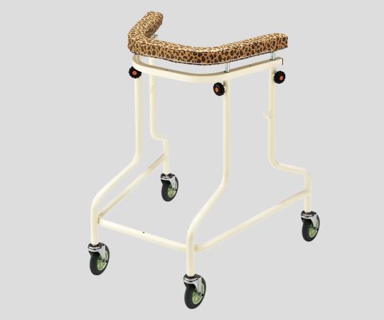 らくらくあるくん(R)~ネイチャー~ (ネスティング歩行器)Rkun-RHY ヒョウ 抵抗器有り ネスティングして2台分のスペースで4台収納できます