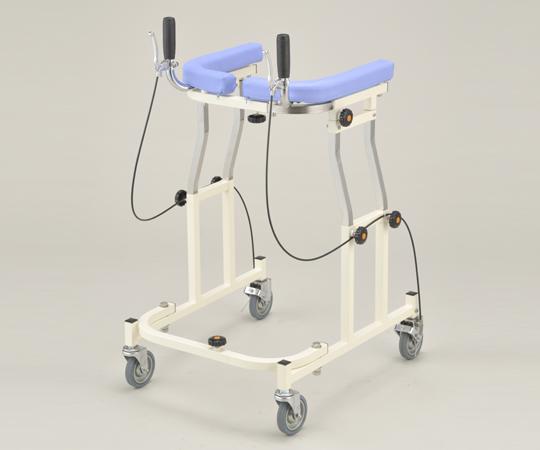 歩行補助器 (アルコー12型) 100453 ブレーキ付き 545~665×645×880~1080mm 13kg