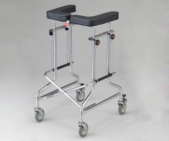 歩行補助器 (アルコー1S・1G型・折りたたみ式)1S-T型 抵抗器付 515×570×875~1075mm 13.0kg