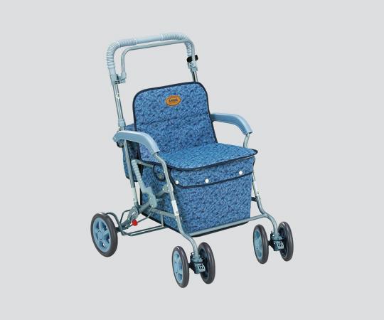 (マーチA) シルバーカー 500×640×820~910mm ブルー 6kg