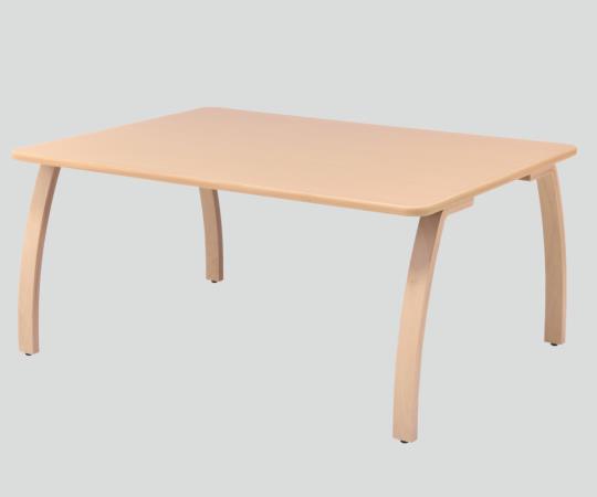 ダイニングテーブル TBH-1612-U 4人用・車イス対面可 1600×1200×730mm 天板下が広いので足元を邪魔しません