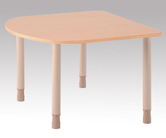 テーブル TBH-1211R-QBE 1200×1100×660~730mm 29.1kg