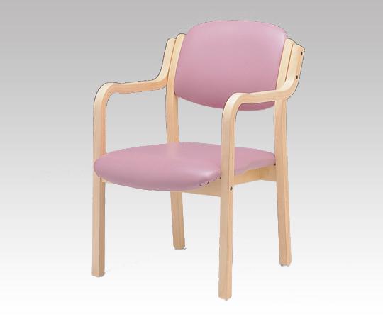 椅子 (アイリス) IRS-150-V ピンク 深型 520×590×800mm