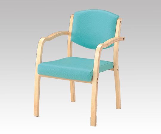 【代引き不可】椅子(ホープ) HPE-150-V グリーン 540×590×800mm