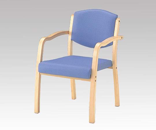 【代引き不可】椅子(ホープ) HPE-150-V ブルー 540×590×800mm