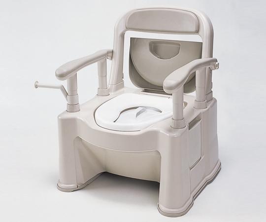 ポータブルトイレ (座楽) VALSPTSPMB 623×597×760~850mm 8.5kg