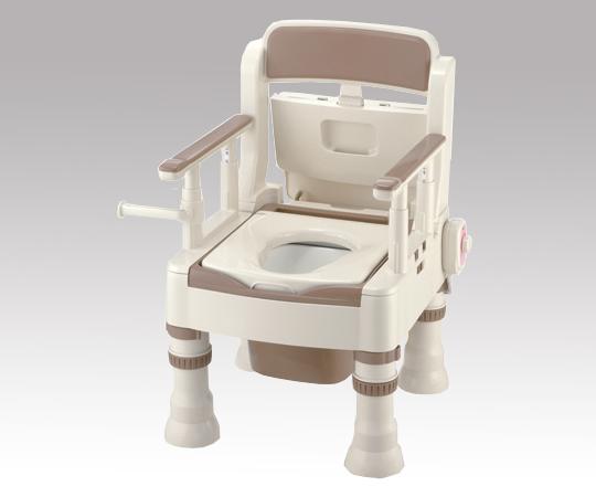 ポータブルトイレ (きらく) MH 暖房便座 490×530×750~870mm