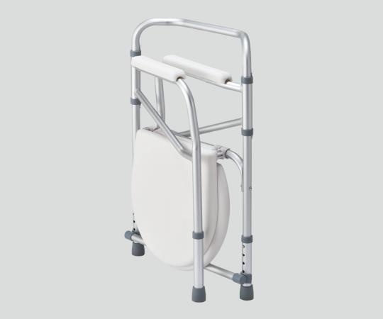 折りたたみ便器椅子 NC616 550×500×680~780mm 折りたたみ便器椅子のスタンダードモデル