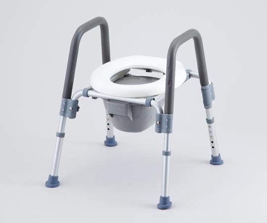 コンフォートトイレ椅子(折りたたみ式) HT2202 背無し 455×530×630mm