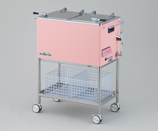 ナビクリーン3(清拭車) ピンク 770(640)×410×920mm 39.5kg