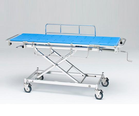 軽量ストレッチャー(シャワー用) AL-SUD 560×1900×530~880mm ストレッチャーに乗せたまま浴室まで移動