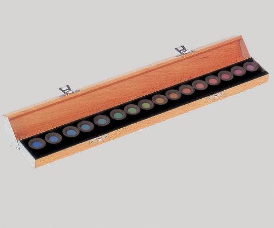 色覚検査器 パネルD-15 365×50×30mm 350g 8-7155-01