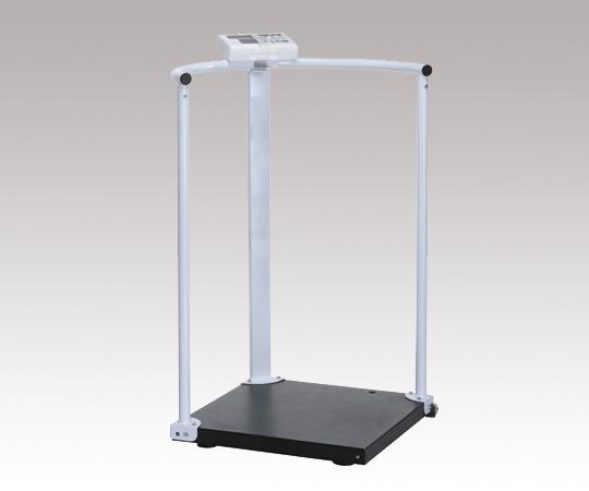 【送料無料/代引不可】手すり付き体重計 (検定付) MS2504