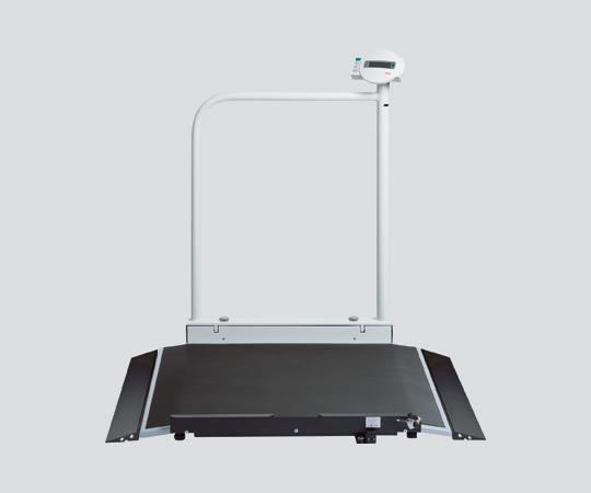 【送料無料/代引不可】デジタル車いすスケール(検定付) seca677 手すり付き 920×1150×1120mm